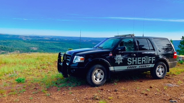 Crook County Sheriff's Office patrol car new 2019