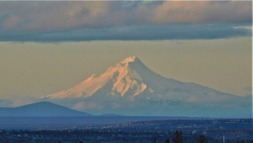 Mount Hood from Redmond Steve Hughes 1223