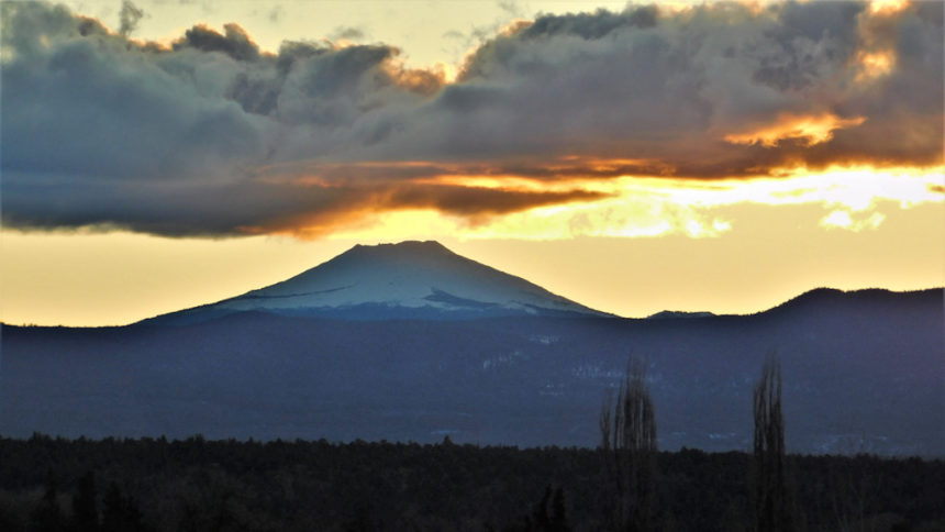 Mt. Bachelor from Redmond Steve Hughes 1223