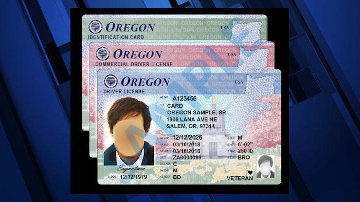 Oegon driver's license DMV