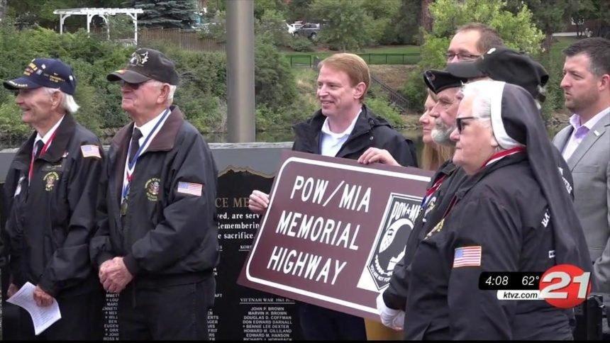 Oregon POW-MIA memorial highway