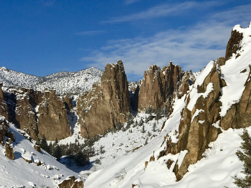 Smith Rock snow Brenda Jaros 1212