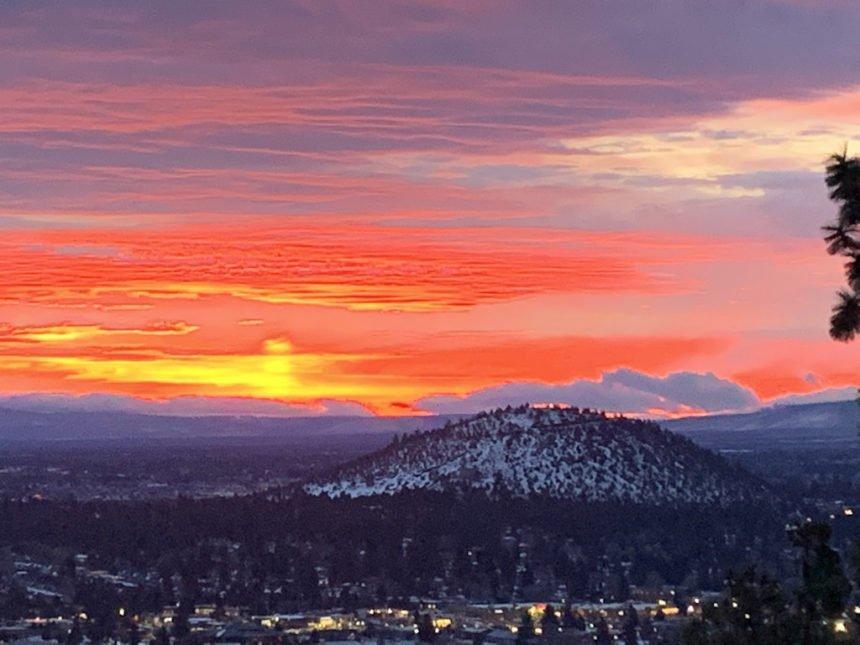 Sunrise Awbrey Butte Sean Bryant 1206