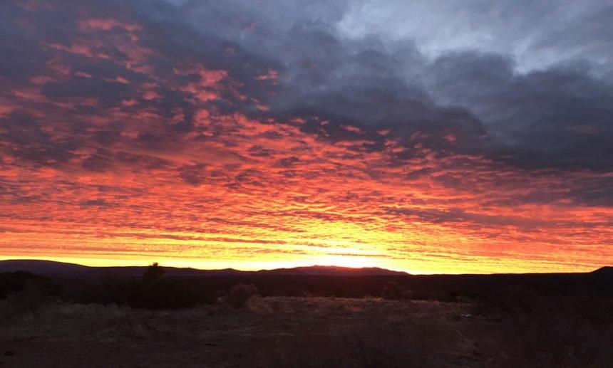 Sunrise Bessie Butte Dave Taggart 1228