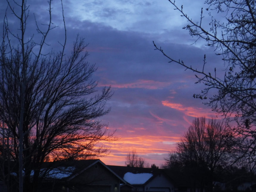 Sunrise NW Redmond Larry Cole 1206