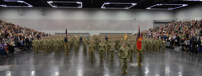 41st Infantry Brigade Combat Team mobilization 1-11