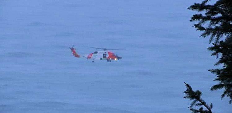 Coast Guard helicopter KPTV