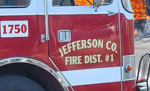 Jefferson County Fire District No.1 truck