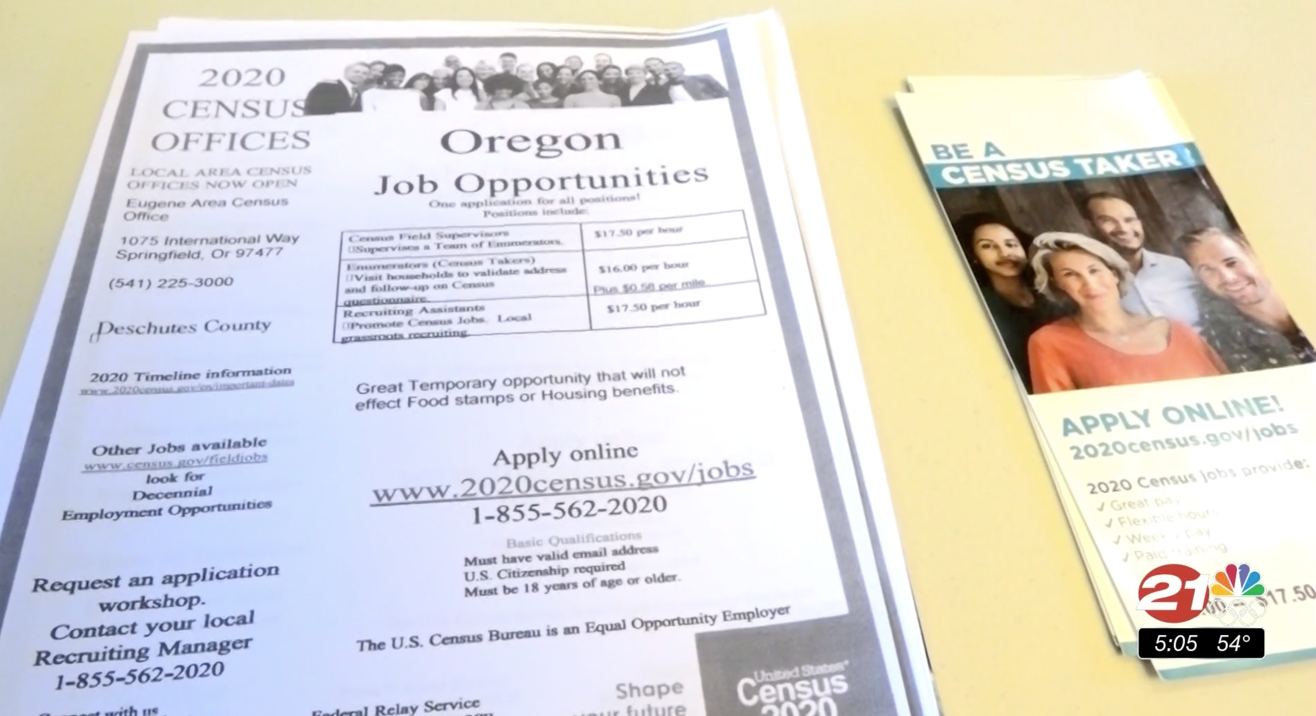 2020 census job recruitment