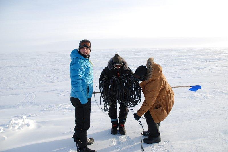 Air sampling Greenland