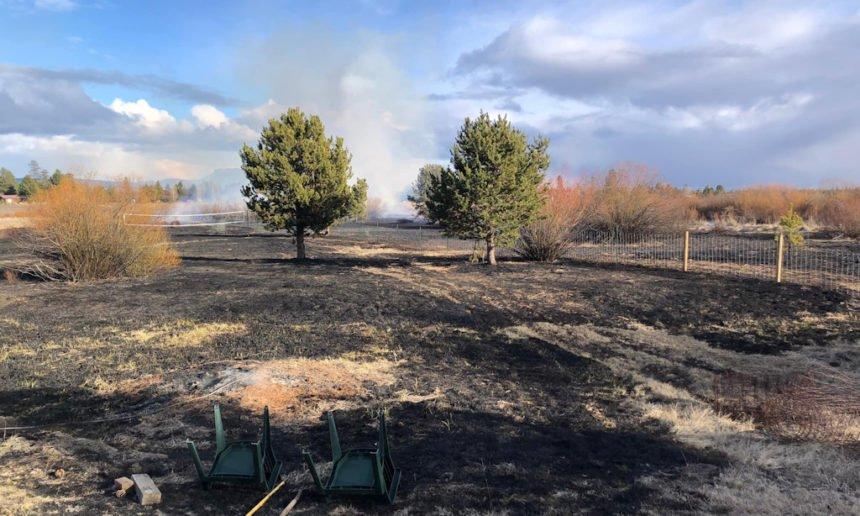 La Pine Bridge Drive brushfire DCSO 229-2