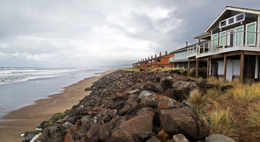Neskowin Oregon coast beach protection Steven Dundas OSU