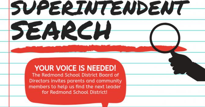 Redmond Schools superintedent web search