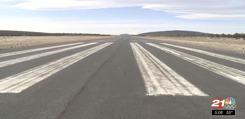 Prineville Airport runway