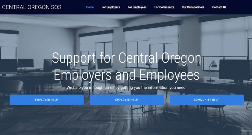 Central Oregon SOS website