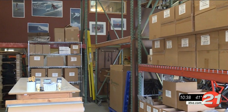 Collective Pallet offers warehouse space for small firms to pack and ship their products