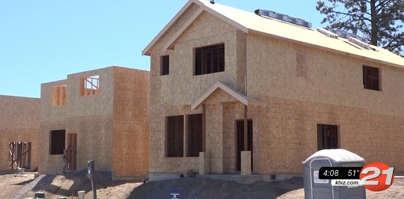 Bend home construction