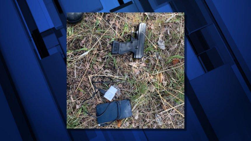 Colton recovered gun DCSO 45