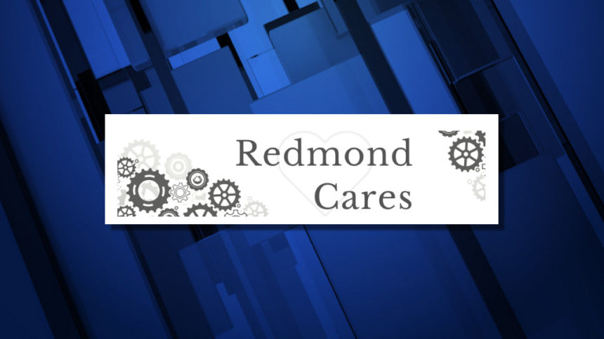 Redmond Cares logo