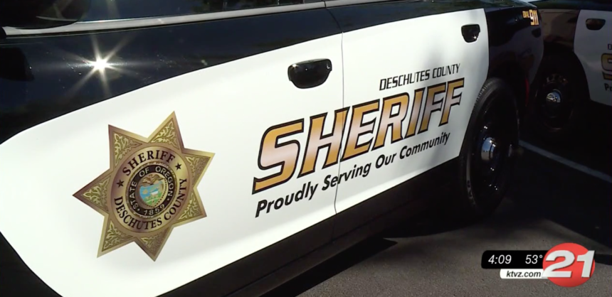 Deschutes County Sheriff's Office patrol car 2020