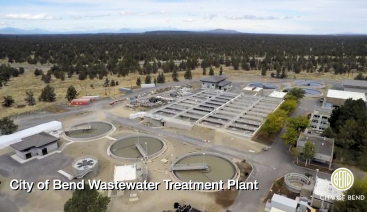 Bend Wastewater Treatment Plant