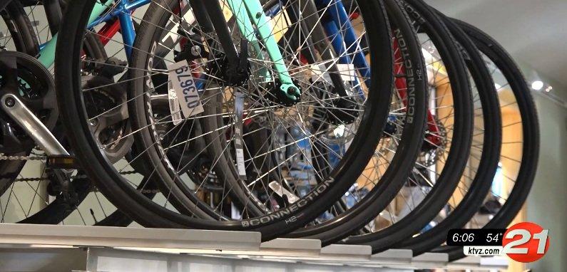 Bend bike shop
