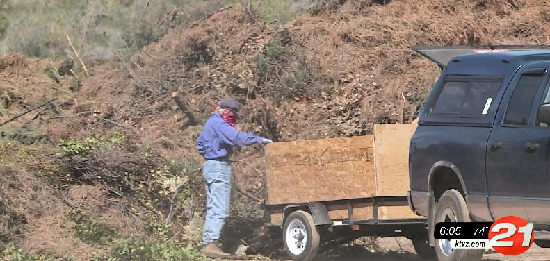 FireFree program provides free yard debris recycling each spring