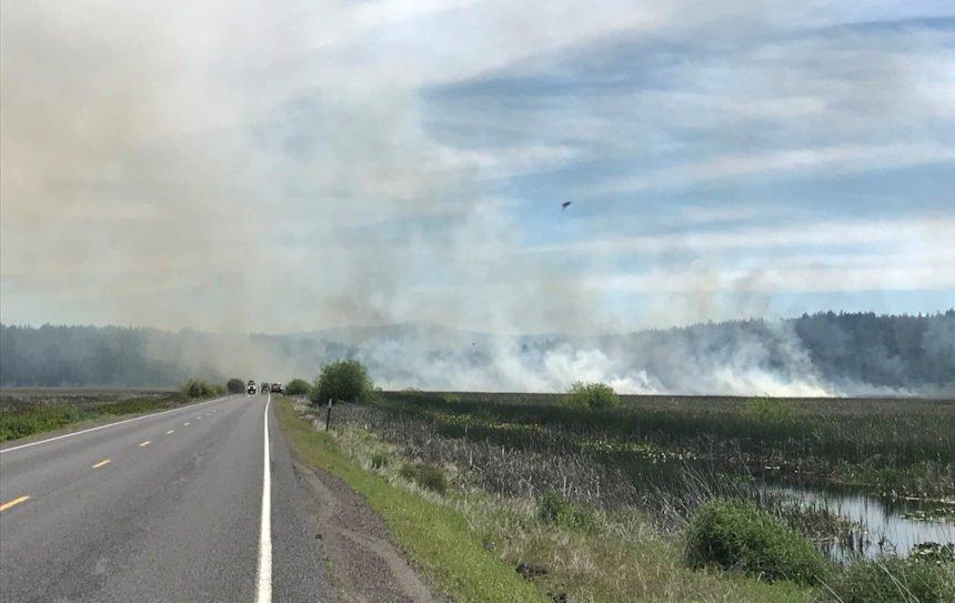 Marsh Fire Klamath County 529-1