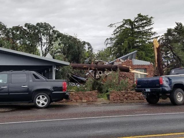 Metolius house damage Colton Carson 530