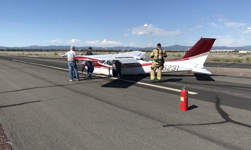 Prineville Airport incident 528