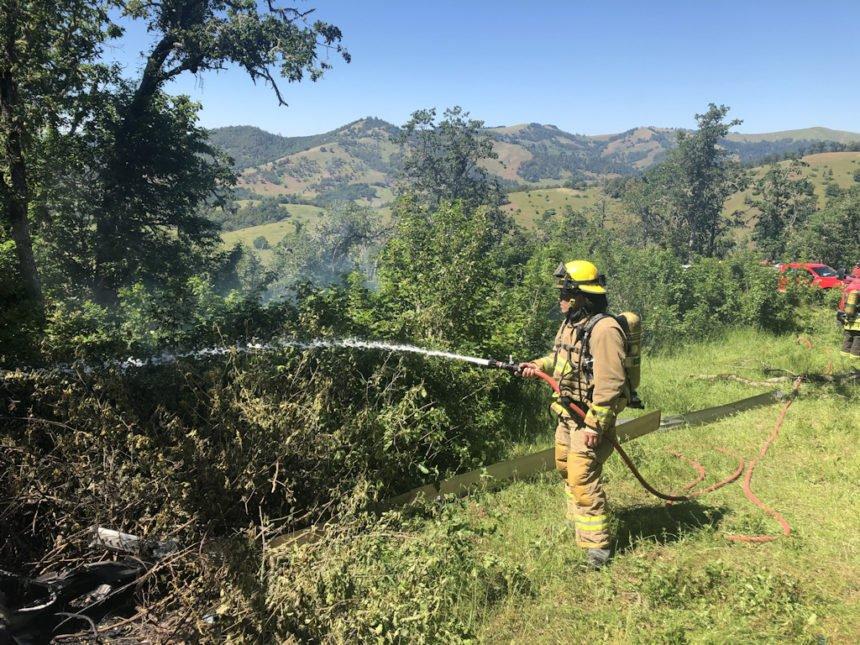 Roseburg fatal plane crash Douglas County SO 528