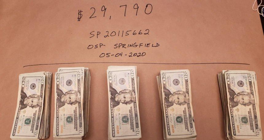 Seized cash OSP 56