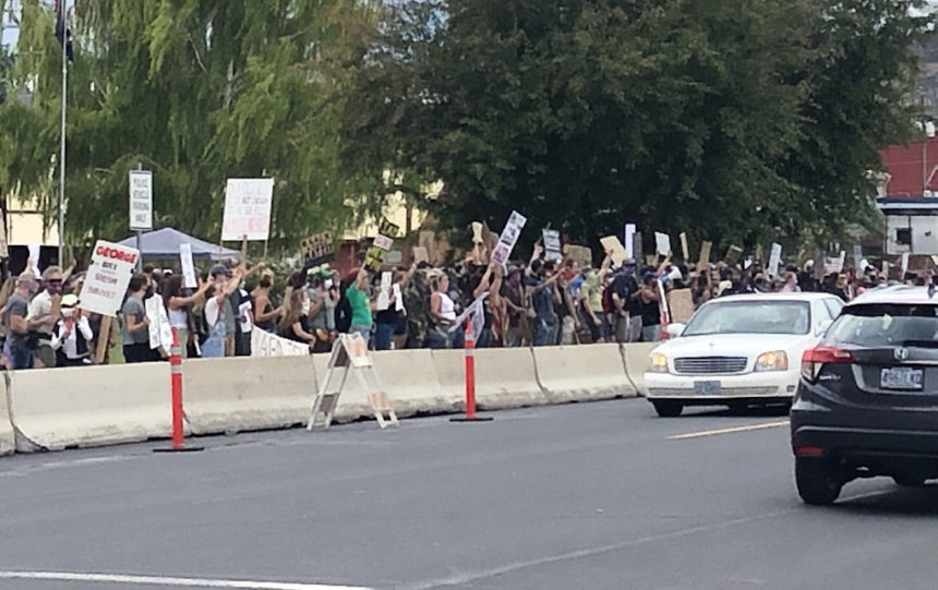 Prineville protest Tyson 620