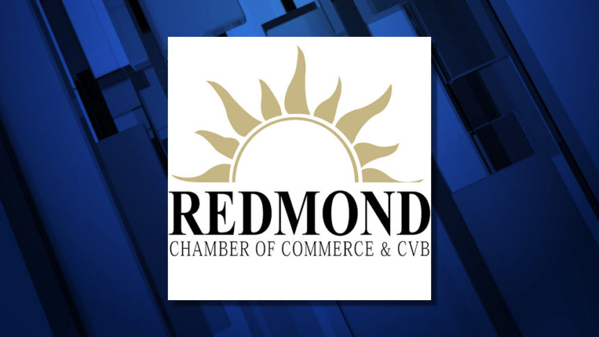 Redmond Chamber of Commerce and CVB logo