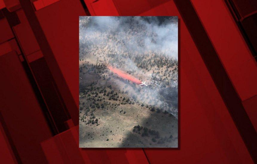 Alder Creek Fire VLAT Al Wood 77
