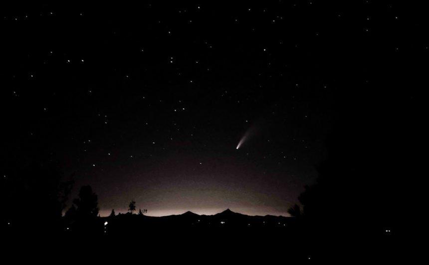 Comet Neowise Awbrey Butte Kentaro Tachikawa 716