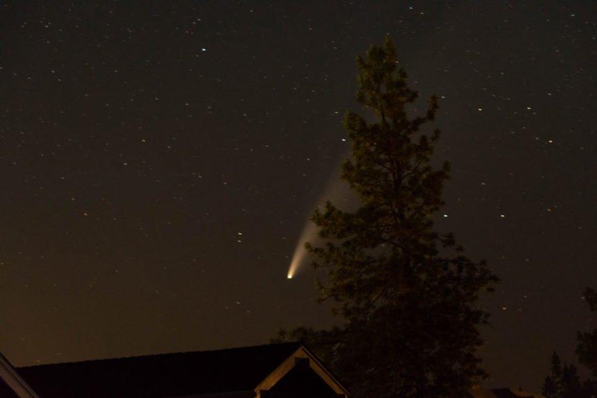 Comet Neowise NWX Benjamin Graham