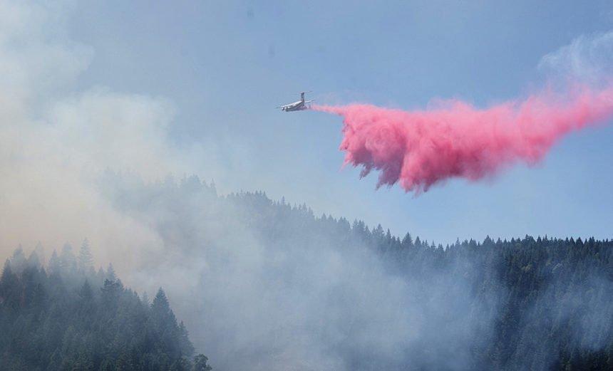 Days Creek Fire ODF 720-1