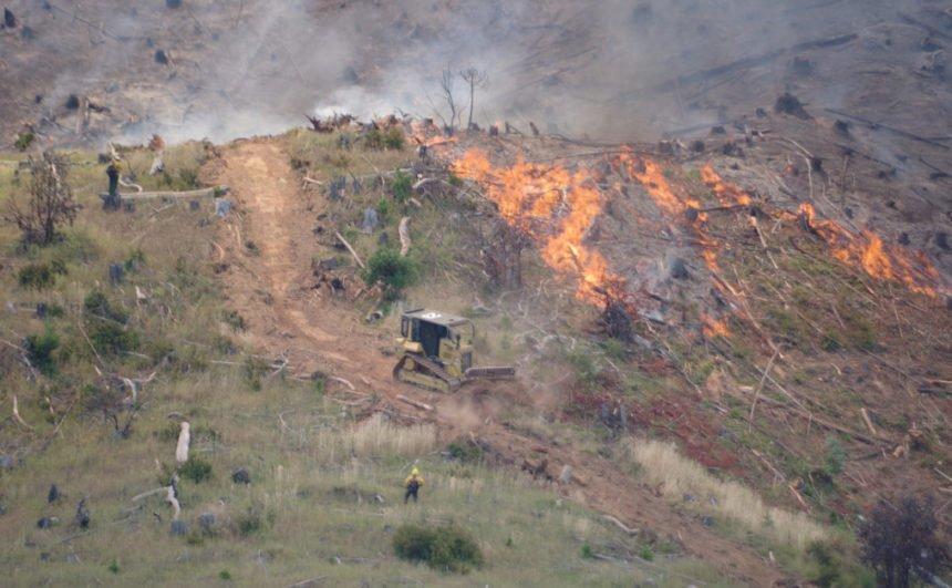 Days Creek Fire ODF 720-2