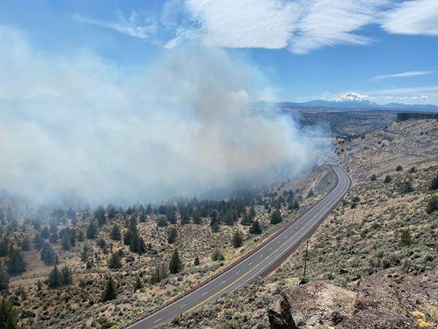 Fire near Hwy 26 Corey Spurlock 711