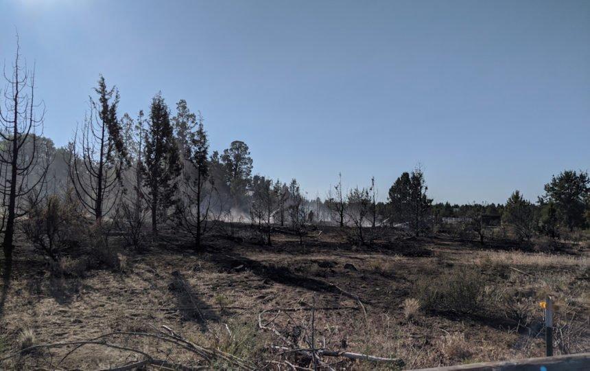 Hwy 20 Ten Barr Ranch Rd fire Bend Fire 75-2