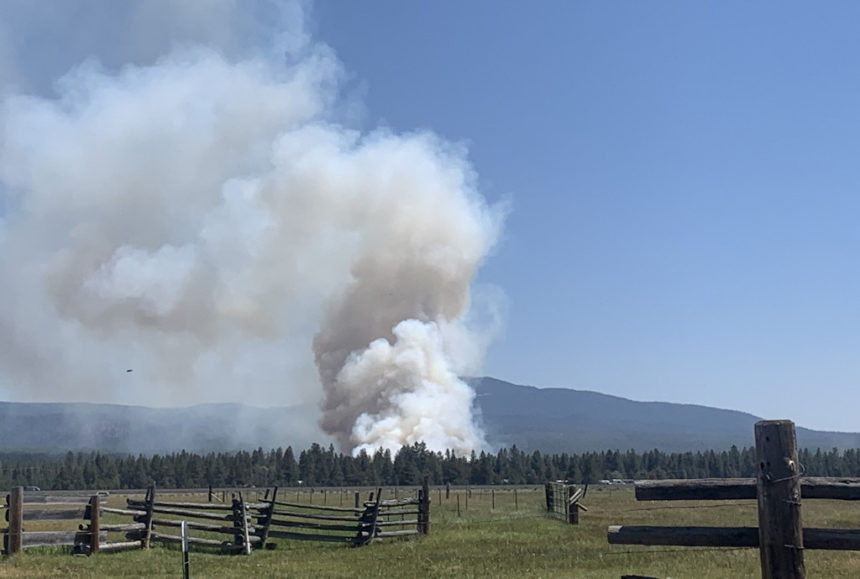 Incident 360 Paulina Lake Road fire Rebecca Toepfer 75
