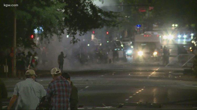 North Portland riot declared KGW 718