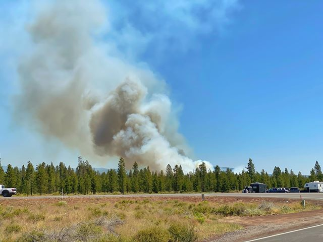 Paulina Lake Fire Kurtis Jay Cook 75
