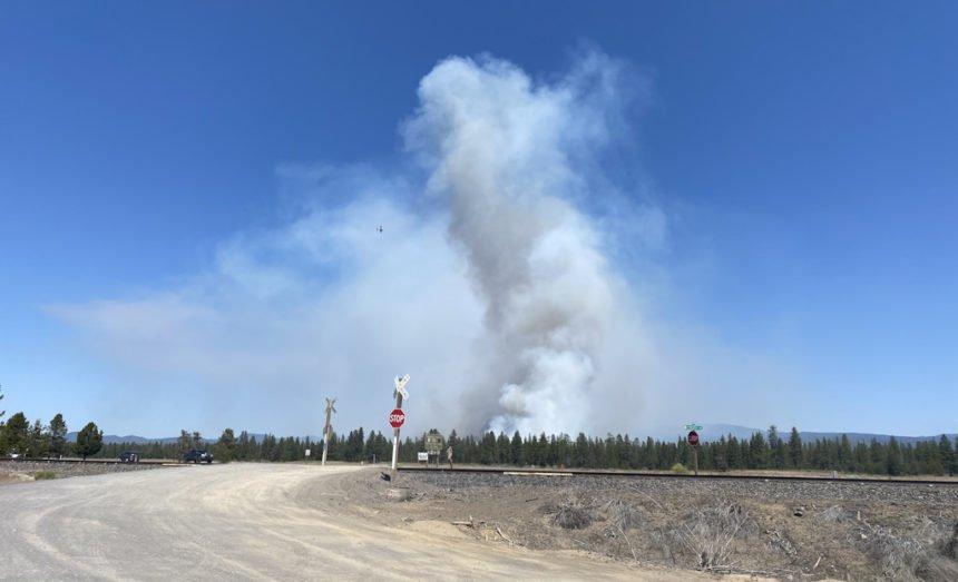 Paulina Lake Fire Rachel Monson 250p 75