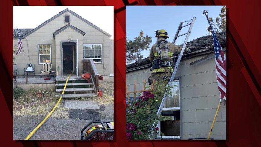 Redmond SW 23rd attic fire 710