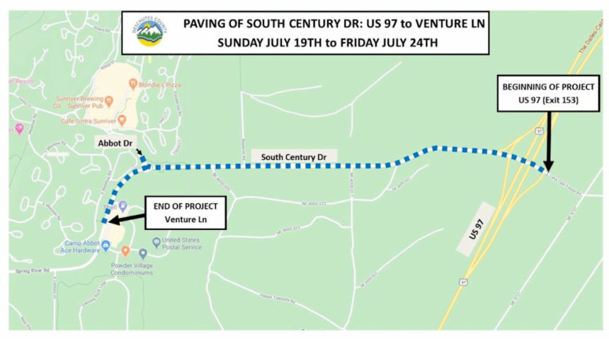 S, Century paving Deschutes County 78