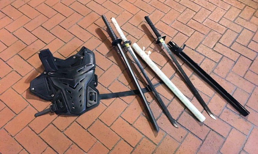 Shield and sword protests Portland Police Bureau 718