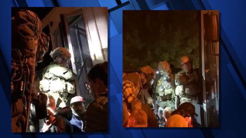 Border Patrol opens bus door Leah Henke Cora Ives 812