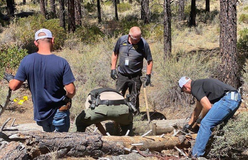 DCSO at scene where body found China Hatt 83